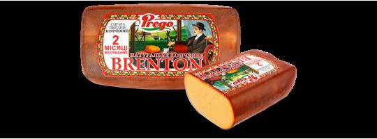 Гастрономическая новинка от ТМ «Новгород-Северский» - копченый сыр «Брентон»