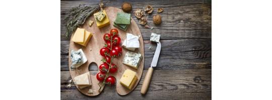 Осенняя палитра сыров для романтического вечера
