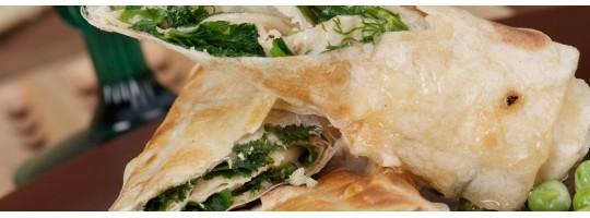 Бртуч – лаваш с сырной начинкой